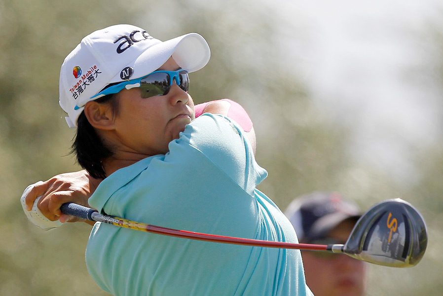 Yani Tseng struggled at times in the third round, but finished with a 71.