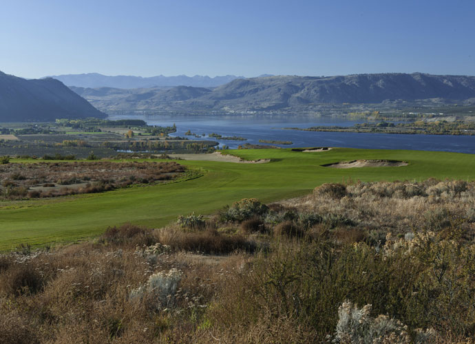 Gamble Sands, the latest work from Bandon Dunes designer David McLay Kidd, opens for play this August. The new track is a huge sand plateau in the north central Washington town of Brewster that overlooks the Columbia River and the snowcapped northern Cascades.