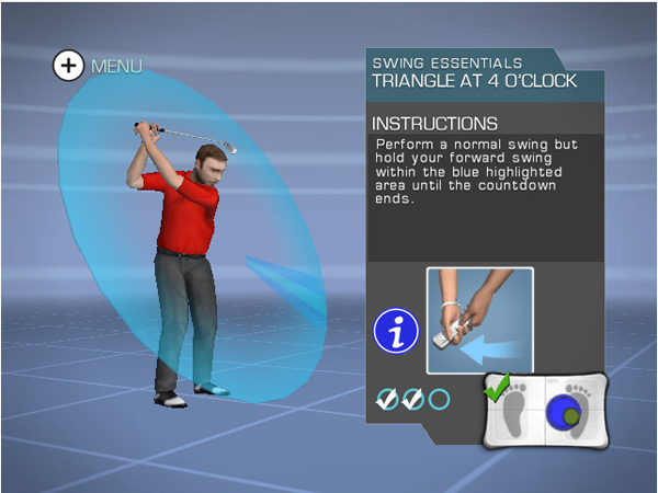 David Leadbetter's My Personal Golf Trainer for Nintendo Wii                           $99, mypersonalgolftrainer.com