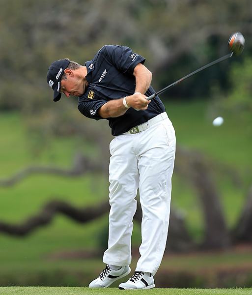 Lee Westwood shot a one-under 71.