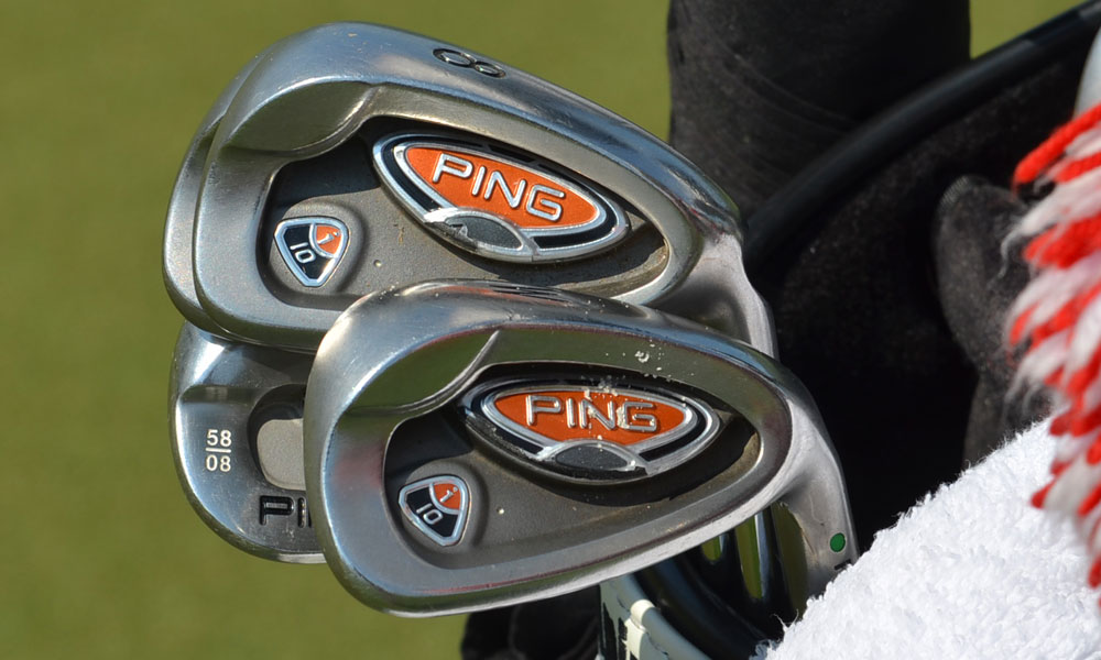 Lee Westwood has been using these Ping i10 irons for years.