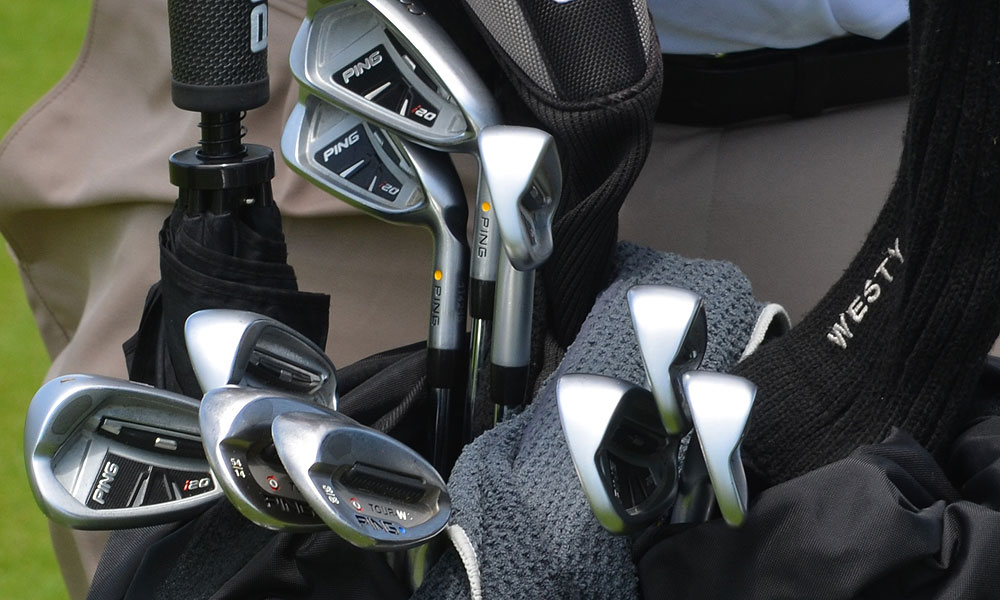4. Lee Westwood (England)                       Ping i20 (3-PW) with Ping JZ shafts.