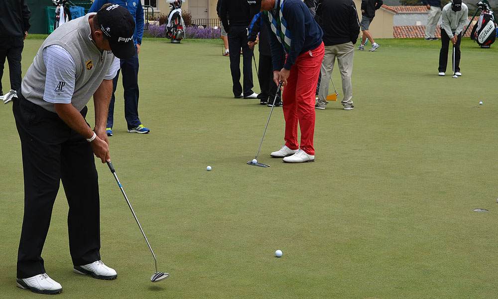 Westwood also used this Ping Nome putter for the first time last week in Sweden.