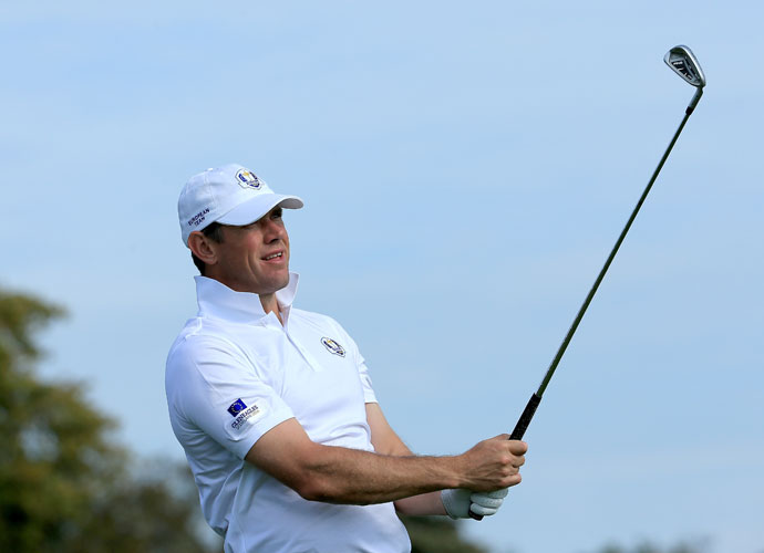 A slimmed-down Lee Westwood is a captain's pick on this year's European team and will be playing in his ninth Ryder Cup.