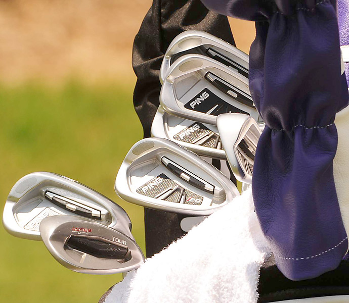 Lee Westwood trusts Ping i20 irons when he competes on Tour.