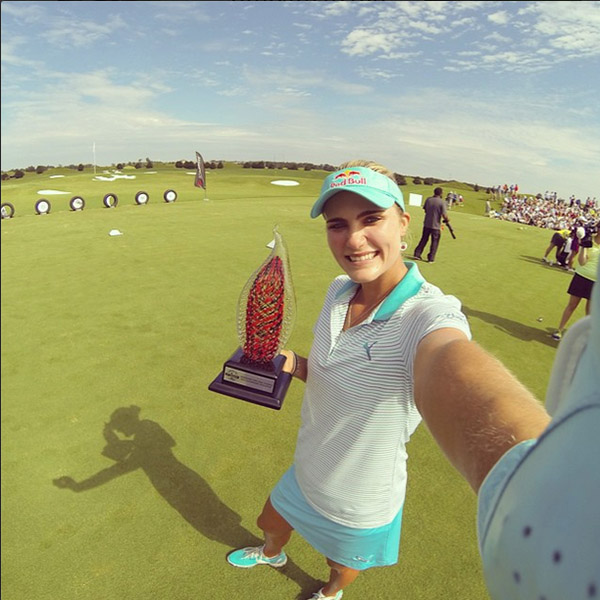 @lexi My winners selfie for the @yokohamalpga tire challenge today!