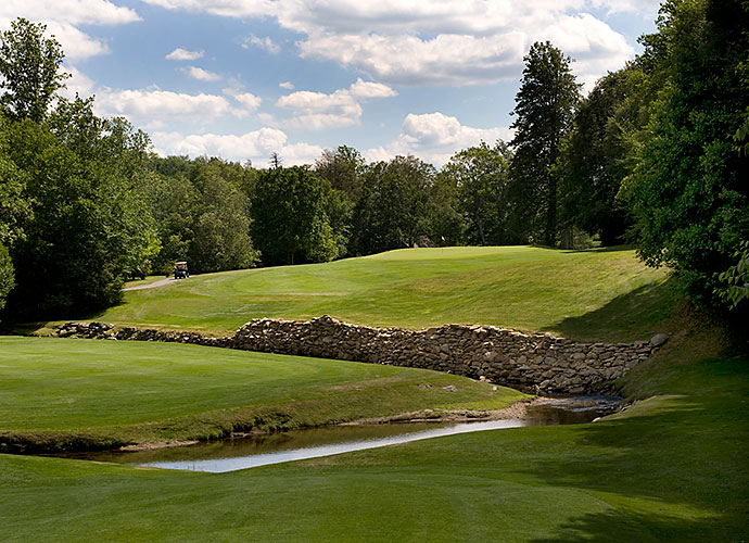 48. Linville Golf Club, Linville, N.C., No. 3, par-4: One of Donald Ross' quieter gems is this 1924 creation in the Blue Ridge Mountains, an hour northeast of Asheville. Trout-filled Grandmother Creek affects play on 14 holes, including at this scenic, strategic 472-yarder, where it must be carried to find the green.
