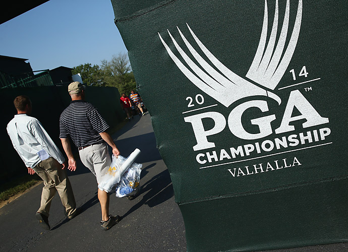 This year's PGA Championship logo.