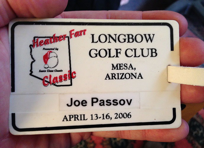 Credit Bob McNichols, who developed Longbow, with being one of the great supporters in the business of junior and women's golf. I've played in the Junior-Am portion of the AJGA's Heather Farr event for 10 years and continue to be amazed by McNichols' generosity and the comportment and skills of the juniors that compete.