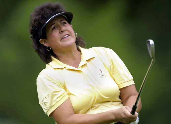 8: Nancy Lopez                         Lopez is the only female to crack the top 10, and is ironically one of the best female players to ever tee it up. The 3-time LPGA Championship winner carried her dominance throughout an entire decade, named the LPGA Tour Player of the Year in 1978, 1979, 1985 and 1988.