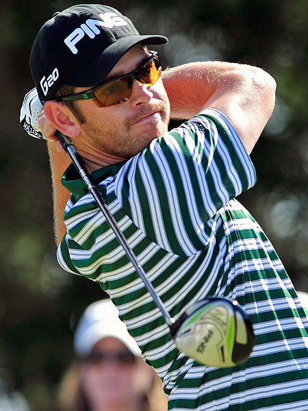 Louis Oosthuizen also scored a 69 on the Seaside Course Saturday afternoon.