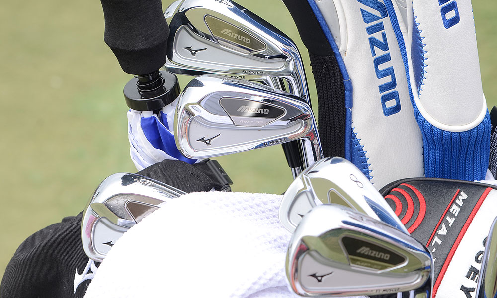Luke Donald switched to Mizuno MP-59 irons before the start of this season.