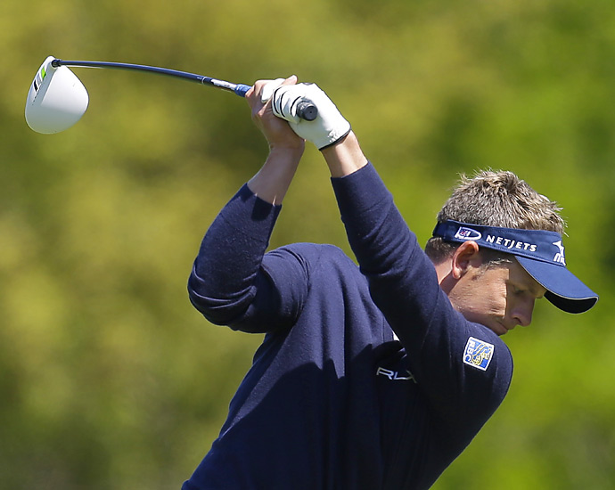Luke Donald shot a one-under 70 Thursday on Innisbrook's Copperhead course.