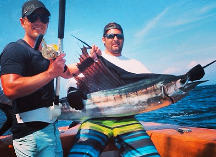 @lukedonald                            Hooked my 1st ever sailfish yesterday #Goodfight #Fishing