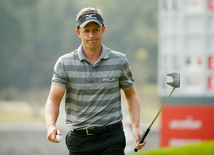 Luke Donald had a 74 on day one.