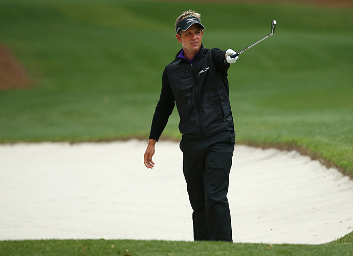 Luke Donald fired a 69 to get within two of K.J. Choi.