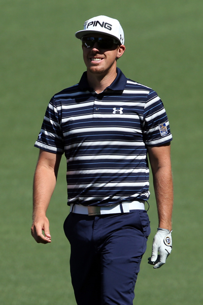 BEST: HUNTER MAHAN                       While Under Armour's horizontal stripe polos are pretty standard attire for Mahan, this blue and white ensemble looks especially terrific, and the athletic fit is perfect.