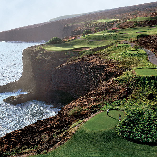 Four Seasons Resort Lana'i at Manele Bay                           Lanai, Hi.                           808-565-2000, fourseasons.com/manelebay                           Veterans of resort golf know there's only one thing better than a great course—a great course that's empty! Fresh off a $50 million renovation, this Four Seasons resort edged out its Hawaiian siblings at Hualalai and Koele thanks to its golf experience. Ranked No. 33 on GOLF Magazine's Top 100 Courses You Can Play, this Jack Nicklaus effort is best known for its par-3 12th, a cliff top marvel so memorable that Bill Gates got married here. Like its sister property at Koele, Manele Bay can be a pain to get to, but that keeps crowds down and the golf experience pristine.