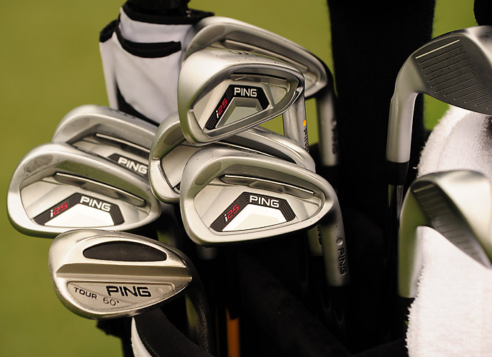 Mark Wilson's favors Ping's new i25 irons and an old Ping Tour wedge.
