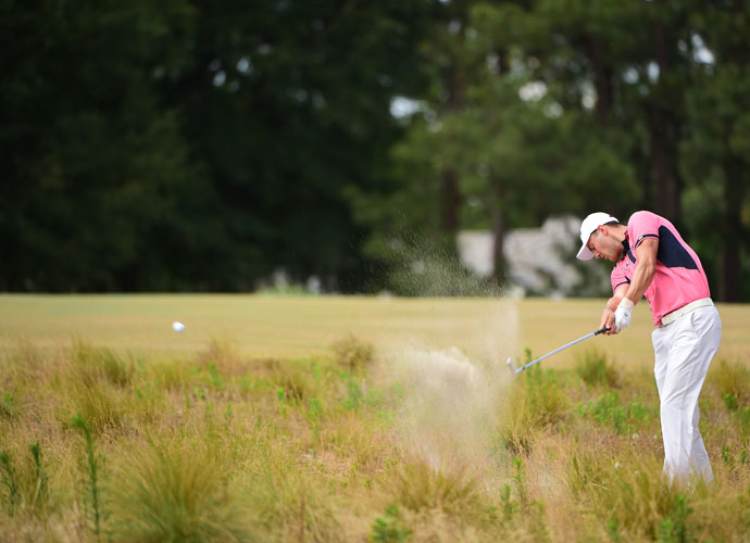 Kaymer's third round featured an eagle, a birdie, and five bogies.