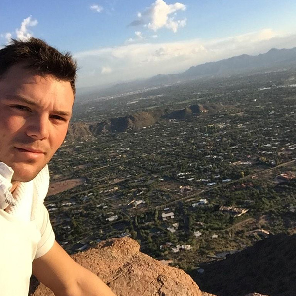 @MartinKaymer59 What a great hike this morning, very early start! #scottsdale #hike #happy