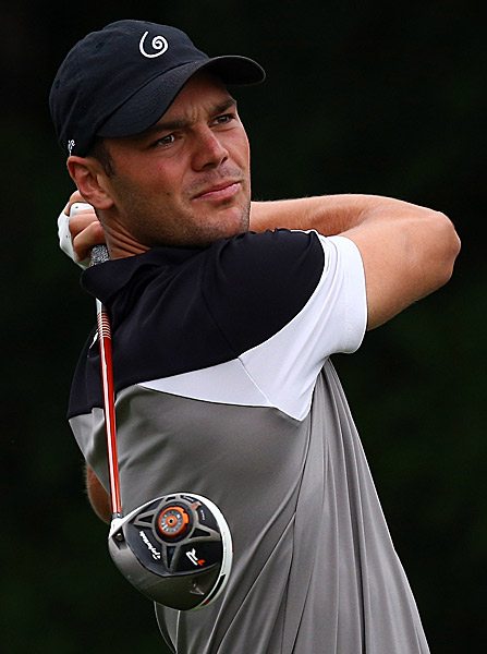 Martin Kaymer shot a two-under 68.