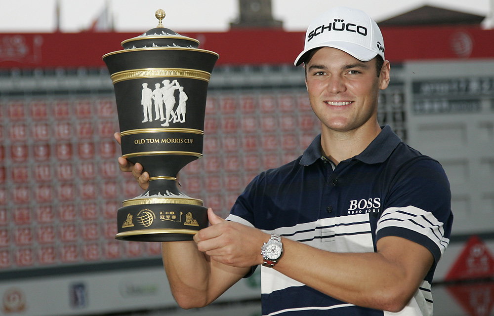 It was the second win of the year for Kaymer, who moved to No. 4 in the world.
