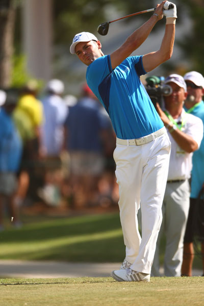 Martin Kaymer birdied four holes on the back nine to shoot a 5-under 65 in Round 1. He finished the day with a three-shot lead over Kevin Na, Graeme McDowell, Brendon De Jonge and Fran Quinn.