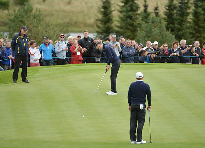 Martin Kaymer sank the clinching putt at the 2012 Ryder Cup. He will hope for some more fortune on the greens this week.