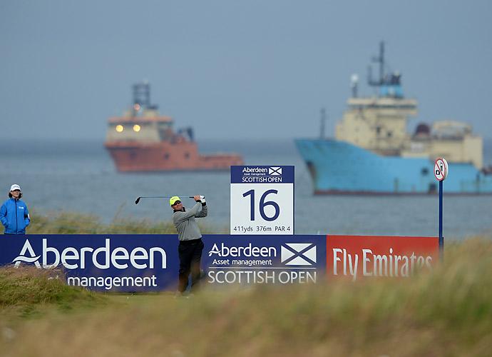 Scotland's Martin Laird had a 70.