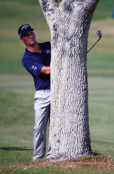 But Every limped home, bogeying two of the final three holes. He had particular trouble on No. 16, where he sent his tee shot into the woods and then knocked his recovery off a tree.