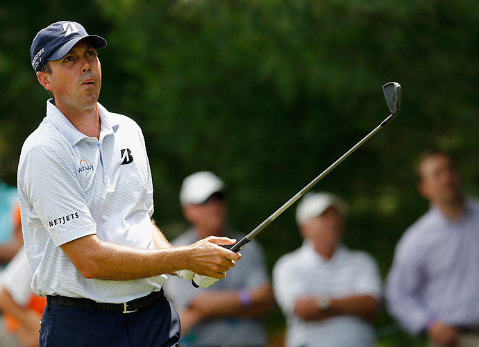 Matt Kuchar was yet another player who finished at four under.