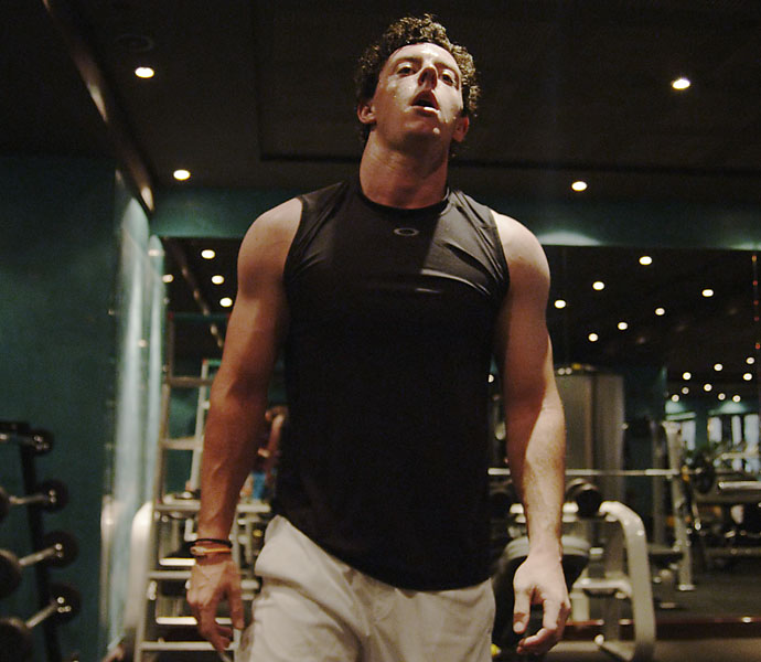 Tour pros today are earning their edge in the gym. World No. 2 Rory McIlroy is know for his vigorous workouts as much as his monstrous drives.