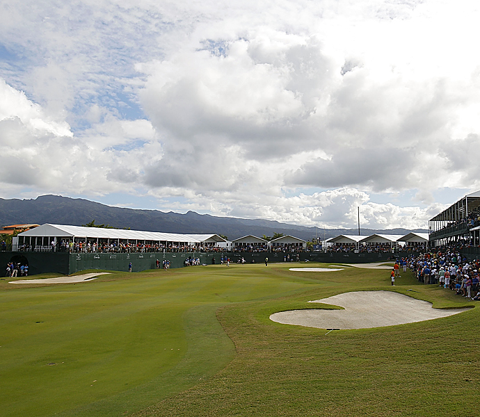 No. 6                           630 yards -- 18th, Trump International, Puerto Rico                           Home of the Puerto Rico Open