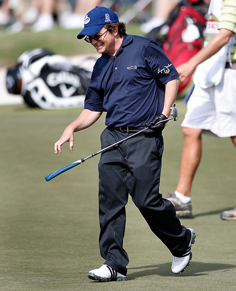 Michael J. Fox is another avid actor/golfer who occasionally takes part in pro-ams.