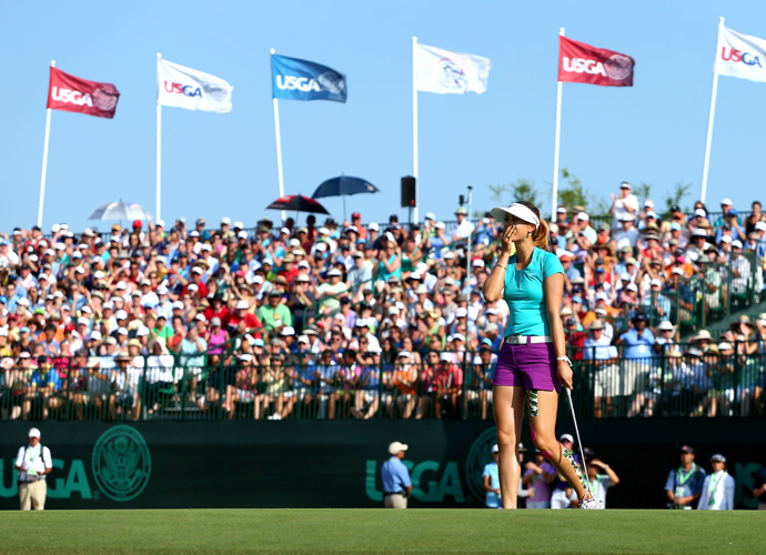 Wie has been one of the biggest stars in women's golf since she was 13, but this was her first major title.