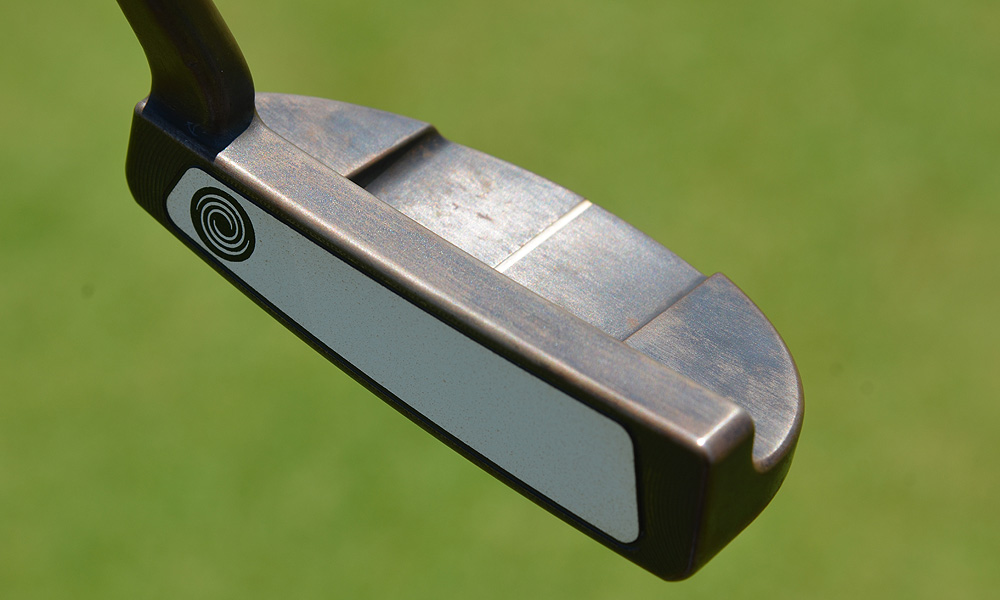 Phil Mickelson used an Odyssey ProType 18ix putter at the 2012 PGA Championship. The putter has Japanese roots, and he first put it in his bag at the WGC-Bridgestone Invitational.