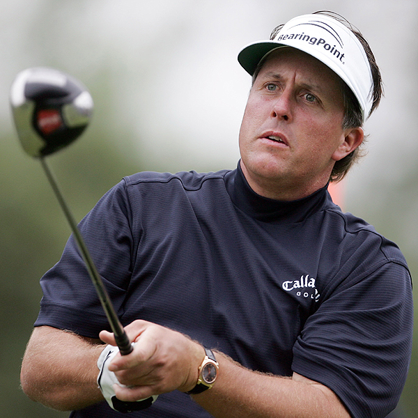2. Mickelson Hits a New Low                       Two weeks ago Phil Mickelson caused a stir when he announced that he was leaving full-swing coach Rick Smith to start working with Butch Harmon. His goal is to start hitting more fairways. Mickelson finished T3 at the Wachovia Championship, but he hit only 39.29% of the fairways for the week, his worst performance of the season.                                              • See Phil Mickelson's complete stats and results                       • Instruction: Hit More Fairways and Cure Your Slice