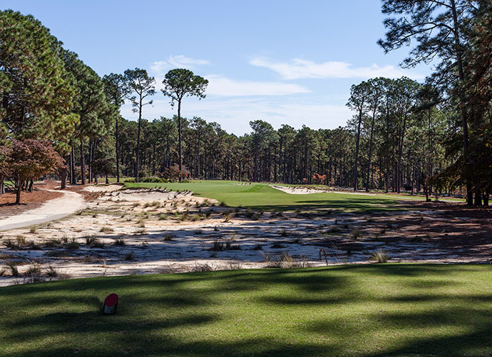 5. Mid Pines Inn & Golf Club, Southern Pines, N.C.: Our 2013 winner for Best U.S. Resort Course Renovation, Mid Pines saw its Ross green contours, vistas and rough areas restored to their 1921 looks by Coore-Crenshaw associate Kyle Franz. Back is the hardpan sand speckled with wiregrass framing the fairways, as well as the renewed emphasis on strategy.