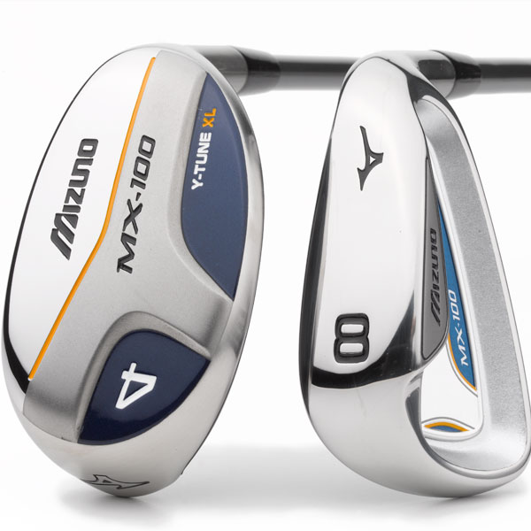 "$699, graphite                        mizunousa.com                        David Llewellyn, club R&D manager: ""The MX-100 offers maximum forgiveness due to hybrid long irons and breakthrough 'Y-Tune' iron technology. There simply isn't anything out there that is more forgiving or more playable.""                        How it works: Mizuno attaches its men's MX-100 clubhead to a lightweight, ladies-flex shaft. The women's version comes with two hybrids (they replace the 4- and 5-irons) and six irons (6 to 9, PW, Gap). Company testing shows that most golfers mis-hit iron shots toward the toe. The R&D team, led by David Llewellyn, combats this tendency by extending the sweet spot area toward the toe with a modified the sole shape and cavity depth."