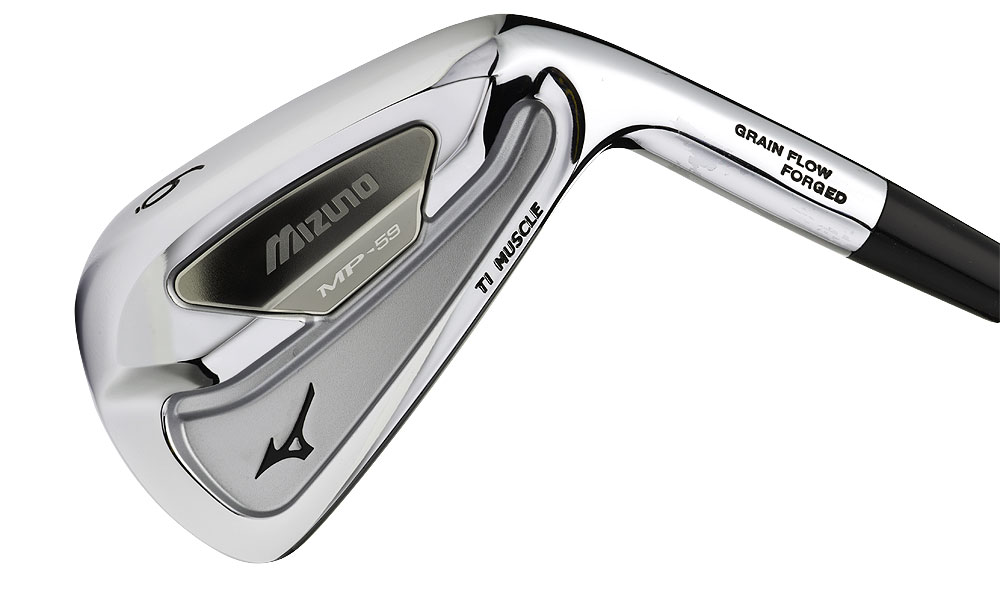 Mizuno MP-59, $999, steel                       See the complete review.