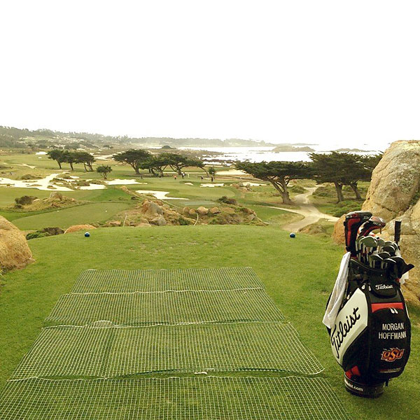 @Morgan_Hoffmann: Par 3 at Monterey Peninsula CC... Almost better views than pebble!
