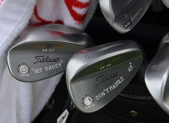 Morgan Hoffmann may be from New Jersey, but his Titleist Vokey Design SM4 wedges have a California vibe.