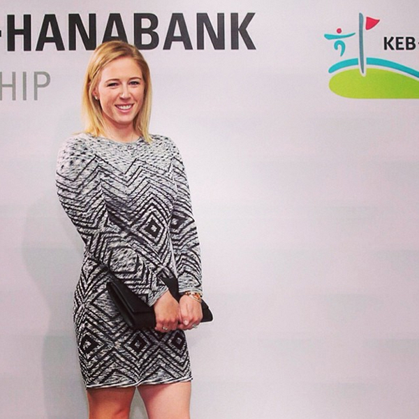 @lpga_tour Morgan Pressel at the LPGA KEB-HanaBank Championship Gala