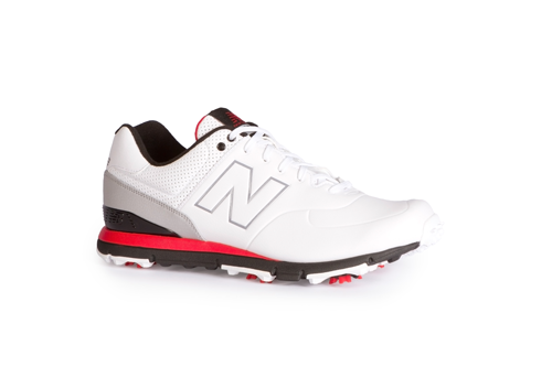 New Balance 574 ($109.95; newbalance.com): Built on the classic New Balance 574 lifestyle shoe last, the 574 golf shoe features a waterproof microfiber leather upper and lightweight cushioning.