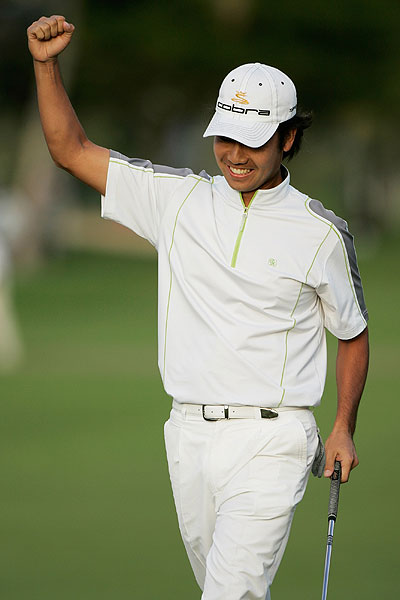 Na finished strong                       Kevin Na made a rare eagle on the 18th hole Sunday to finish in a tie for fourth place and earn $208,688. In 2007, Na ranked 167th in greens in regulation and made just nine eagles.