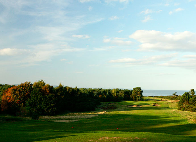 Nairn Golf Club, Nairn [011-44-1667-453208, nairngolfclub.co.uk]: Luke Donald and Paul Casey starred for Great Britain and Ireland in the 1999 Walker Cup Match at Nairn, but the real winner was the course itself, a links course just outside the Top 100 that dates to 1887. A half-dozen holes on the front nine play practically in the sea, yet the most memorable tests are the uphill 13th and downhill 14th that are virtual inland holes, while retaining stirring views of the Moray Firth.