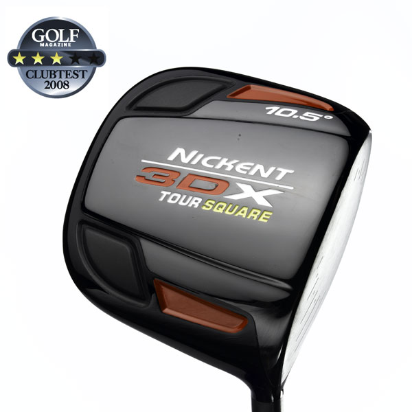 "Nickent 3DX Tour Square                            $249, graphite                           nickentgolf.com                                                      We tested: 9°, 10.5° and 12° in UST Proforce V2 graphite shaft. Shaft length: 45.5""                                                      Company line: ""The clubhead is forged Titanium, giving it a hotter, more solid feel at impact. It has a penetrating ball flight, a neutral setup and a black ion plated finish.""                                                       Our Test Panel Says:                            PROS: By far, the lowest ball trajectory of the bunch; very good alignment, head naturally sets up square to the ball; produces worthwhile accuracy; respectable distance; ball jumps nicely off face; head design seems to prevent overcooked hooks; adequate stability at contact.                                                       CONS: Good numbers on the launch monitor don't pan out to equally good results on-course; loud, awkward impact sound; off-center contact can cause noticeable distance loss; nothing performance-wise stands out.                                                                                  ""I'm a fan of its low spin rate, accuracy and good length."" — Don Ytterberg (11)                                                      Rate and Review this club"