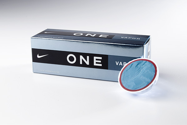 Nike One Vapor                           $30/dozen                           nikegolf.com                           Construction: 3-piece, ionomer blend cover                           It's for: Players who swing 100 mph or less and want a high-spin ball                           The core has progressive densities—softest in the middle,                           firmest around the perimeter—to increase ball velocity                           and boost feel. In fact, the low compression core makes                           Vapor quite playable for those with average swing speeds.                           A lively polymer mid-layer (maroon) is used to boost initial                           velocity and, ultimately, distance. The soft ionomer cover                           adds to its consistent nature.                           Parting shot: This new ball fits a niche previously                           unaddressed by Nike.                                                      Other new Nike balls:                           • Nike One Tour, $45/dozen                           Construction: 4-piece, urethane cover                           It's for: Better players, One Platinum groupies                                                      • Nike One Tour D, $45/dozen                           Construction: 3-piece, urethane cover                           It's for: Better players, One Black converts
