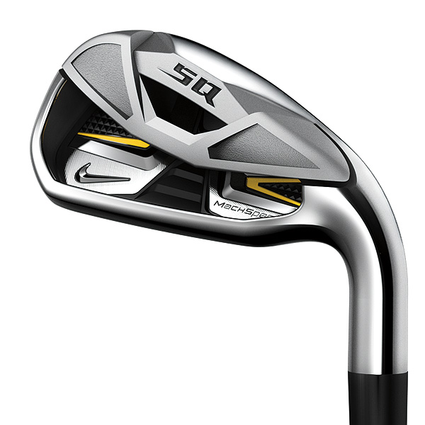 Nike SQ MachSpeed$699, steel; $799, graphite, nikegolf.com                       SEE: Complete review, video                       TRY: GolfTEC, Golfsmith, Nike fitting                       BUY: Nike SQ Machspeed irons on Golf.com